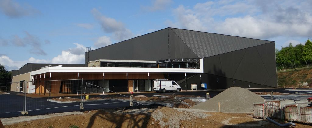 Le Chantier De La Plaine Des Sports Se Poursuit Douarnenez