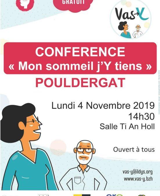 Affiche conférence Pouldergat