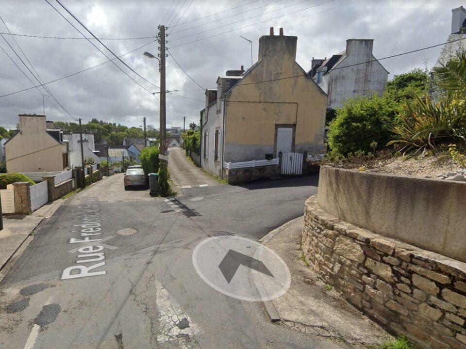 Rue Frédéric Le Guyader à Douarnenez