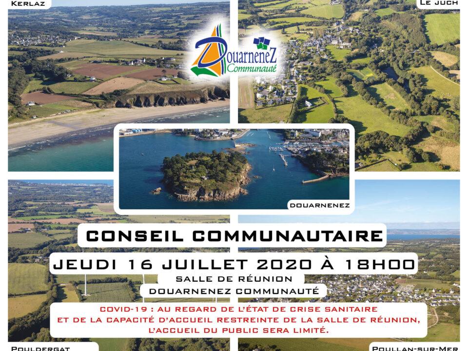 Conseil communautaire 16 juillet 2020